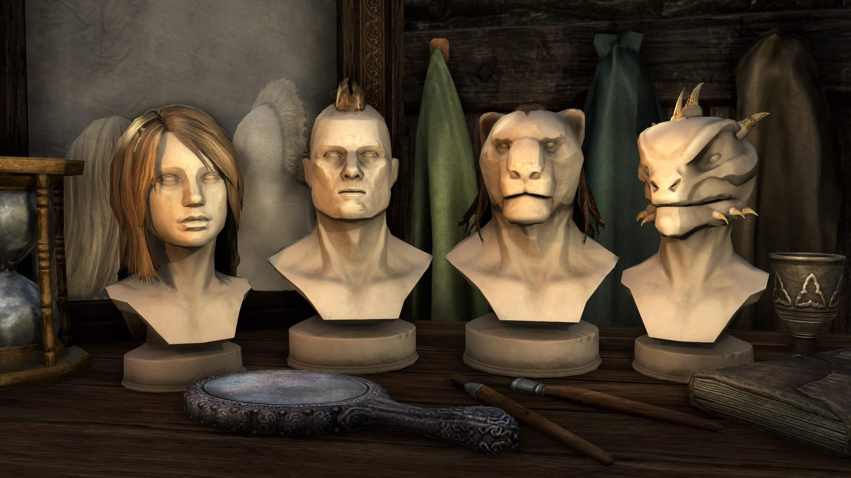 Fine Update 11 Guide Eso Style Parlor Elder Scrolls Online Hairstyle Inspiration Daily Dogsangcom