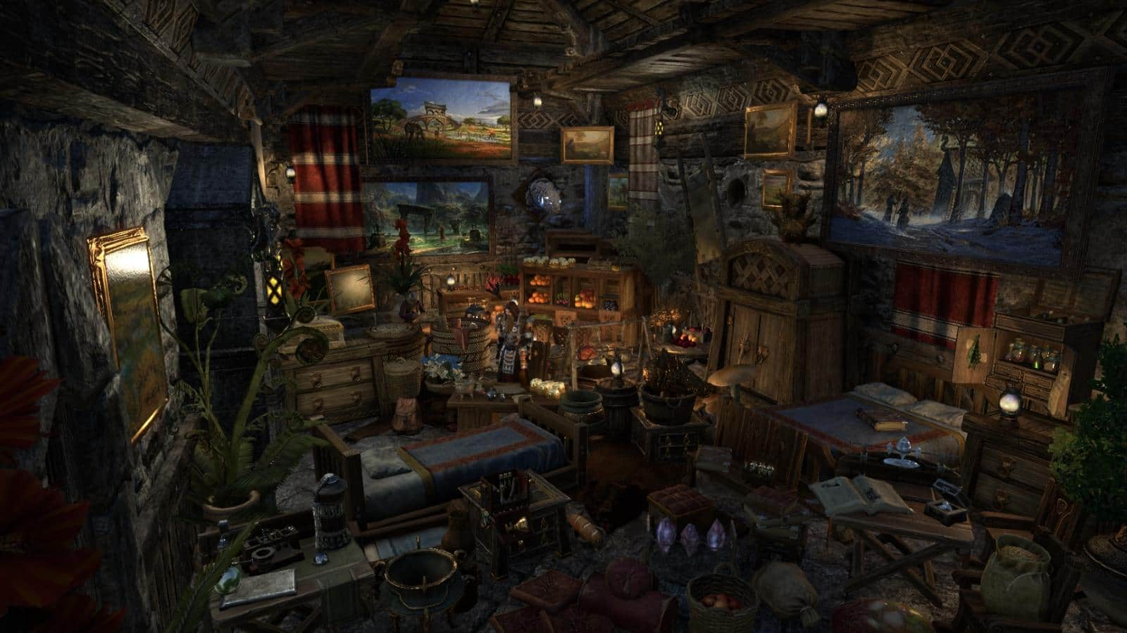 Cabin Bedroom Decorating Ideas Announcing The Winners Of The Eso Home Decoration Contest