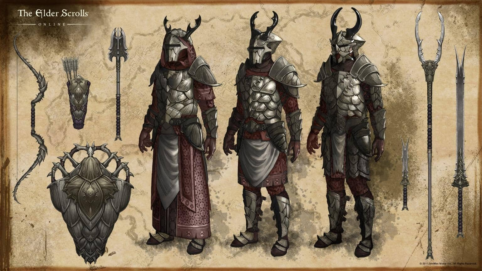 ESO Morrowind Influential Factions Of Vvardenfell