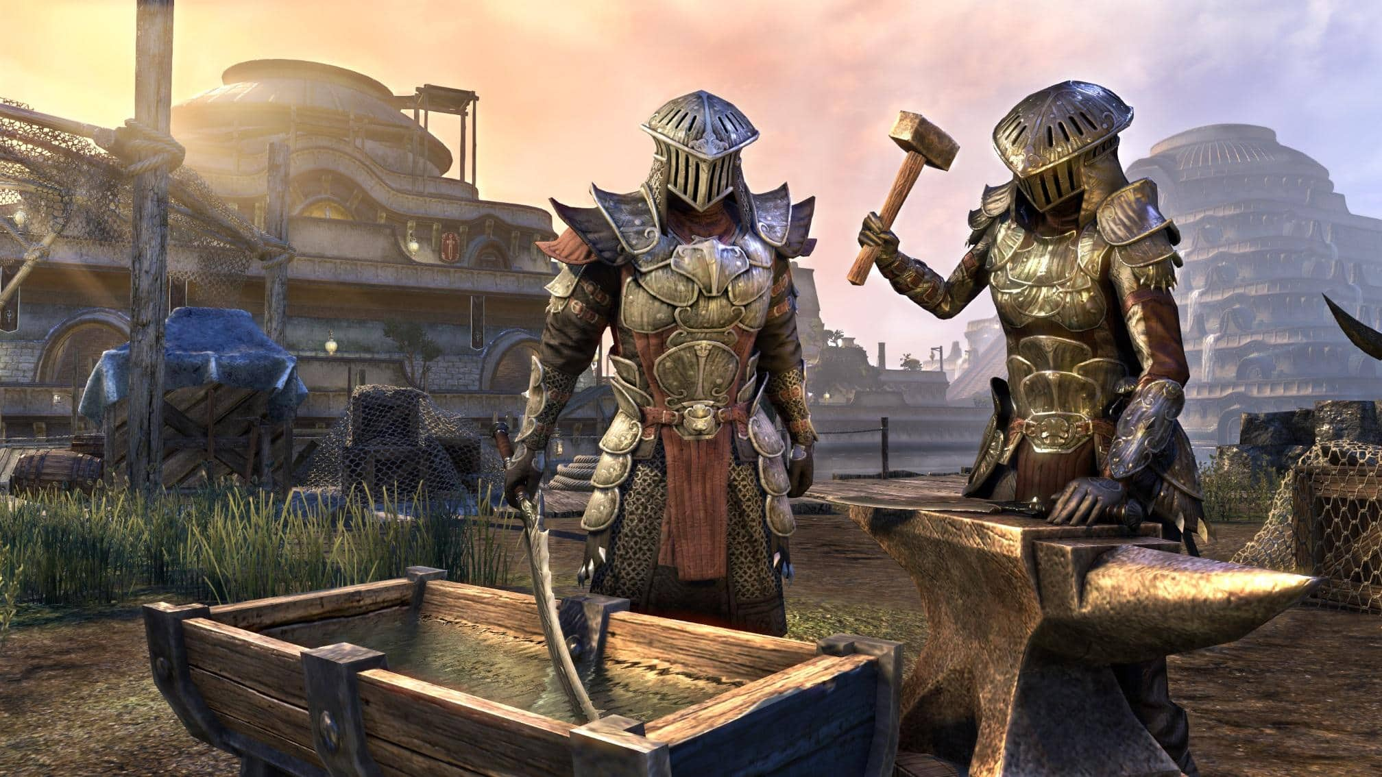Eso Morrowind Crafted Gear