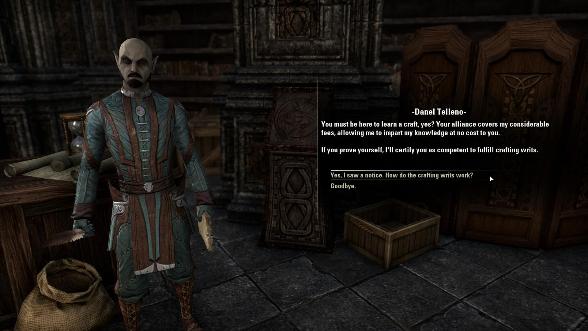 Eso Consumables Crafting Certification