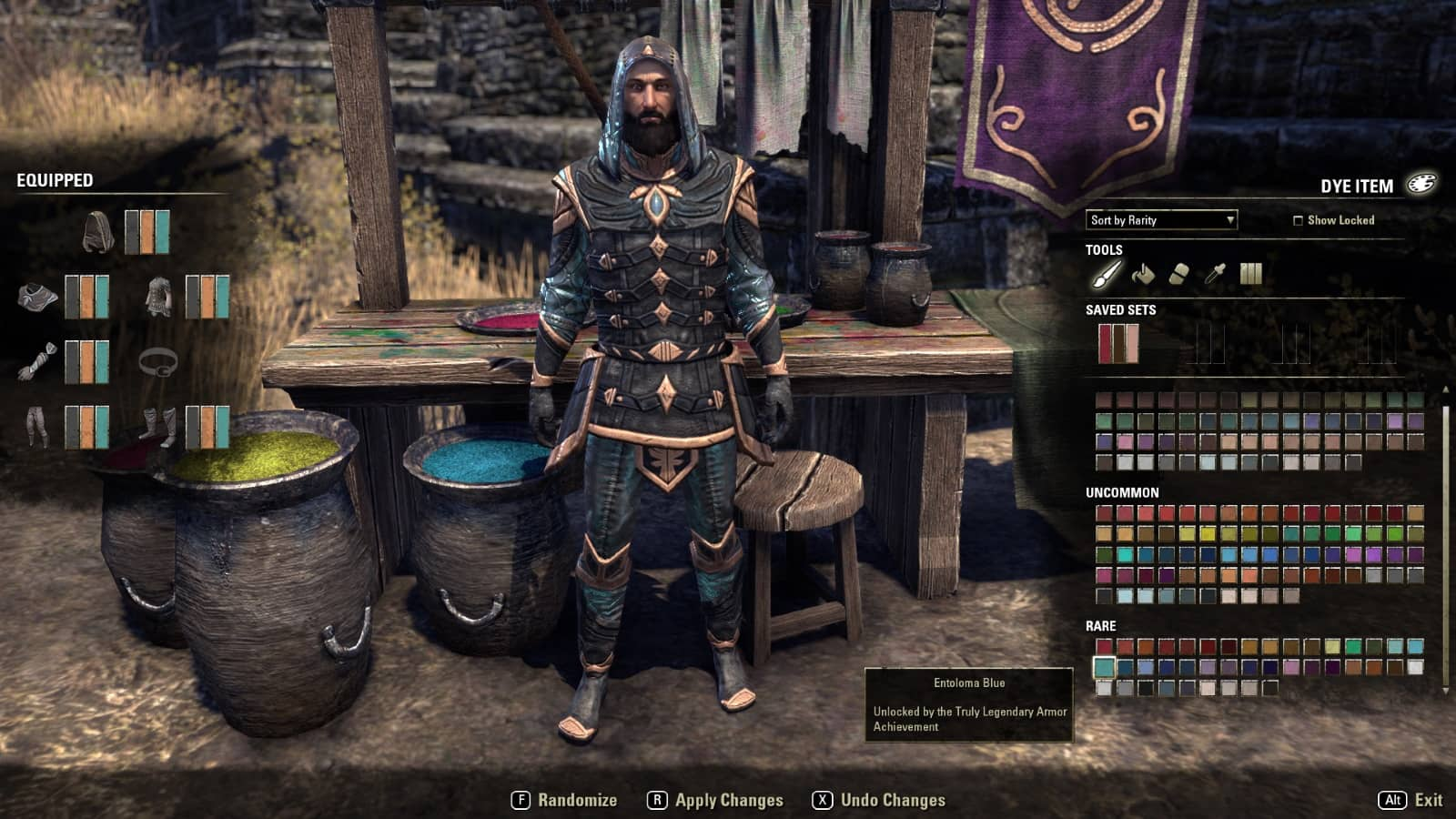 ESO Creating Update 3 Identity and Dyes - Dulfy