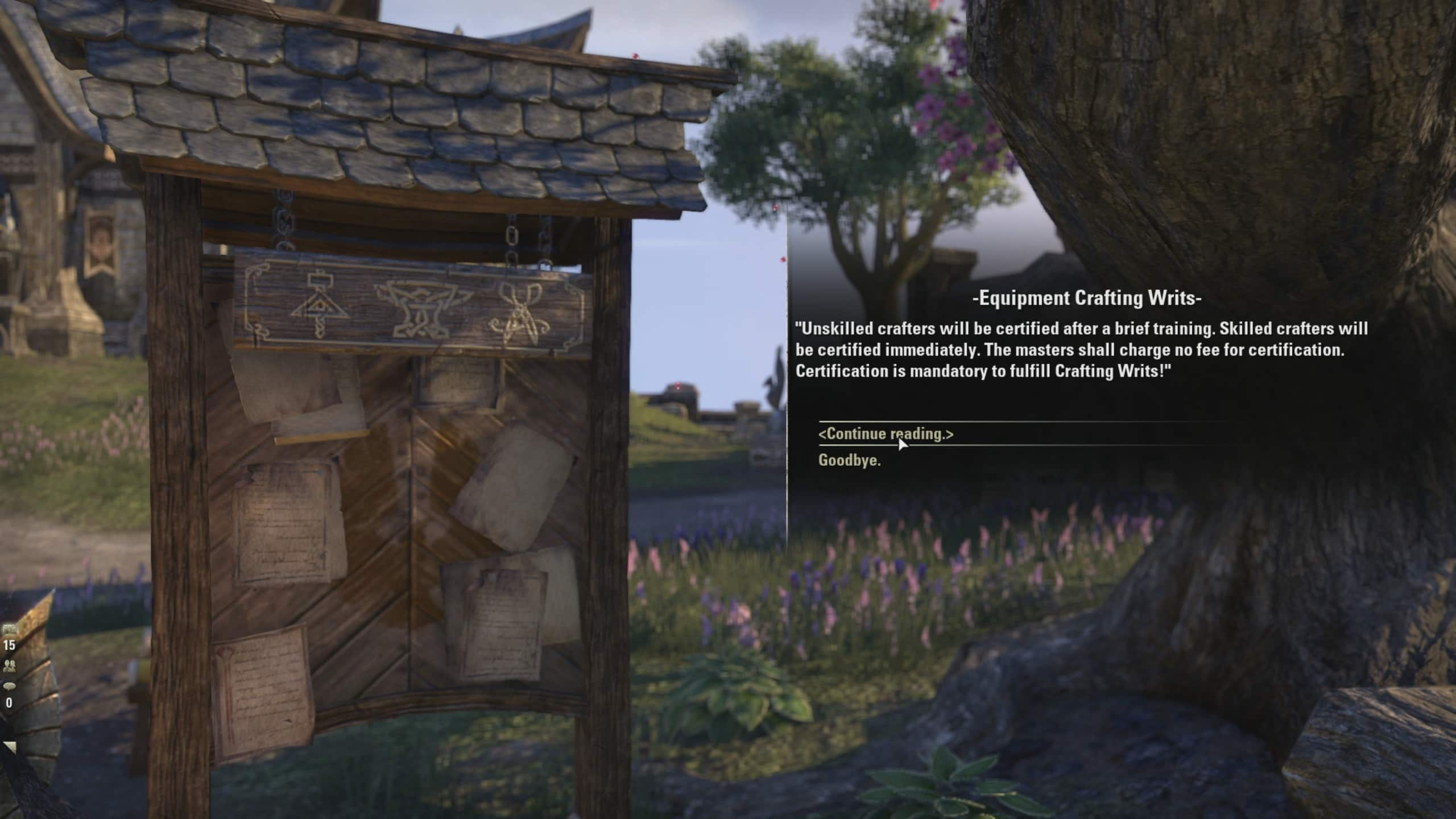 Eso Consumables Crafting Writs