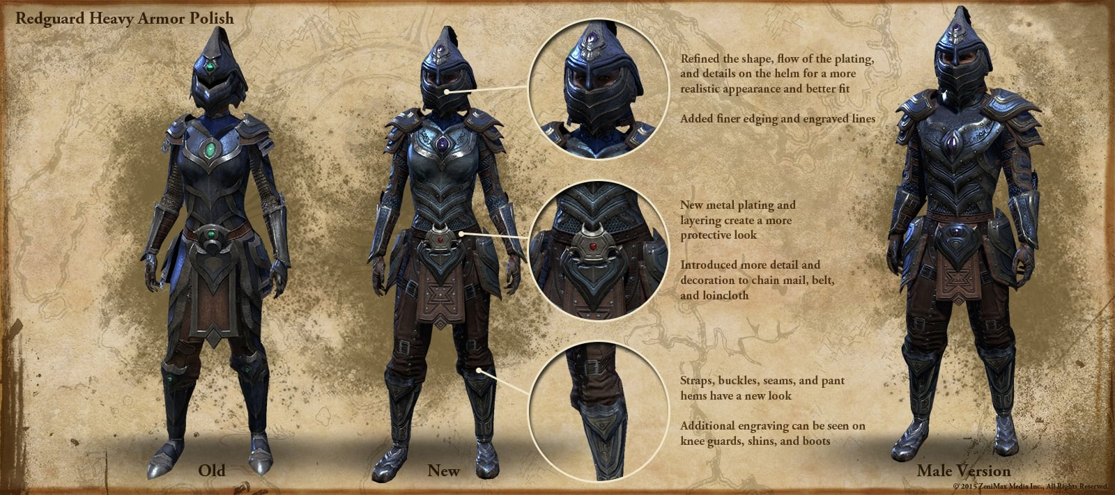 Gotowi na wojnę - Orc oraz Redguard armor - Elder Scrolls ... Elder Scrolls Online Redguard Names