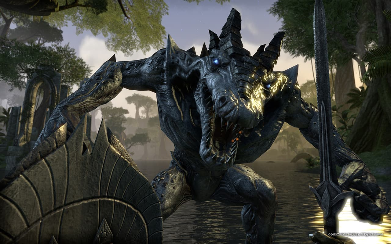 The Elder Scrolls Online allows an escape from reality